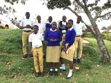 Students at ES Kigoma