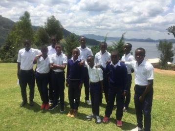 ASEF students at ES Kagogo