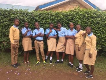 ASEF students at ES Mukingi