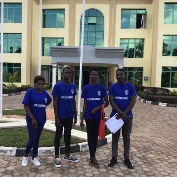 Graduates attending meeting from Itorero