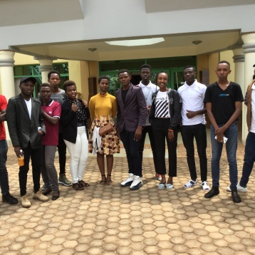 Graduates attending meeting